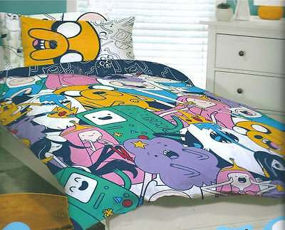 ADVENTURE TIME JAKE FINN SINGLE TWIN bed QUILT DOONA COVER SET NEW