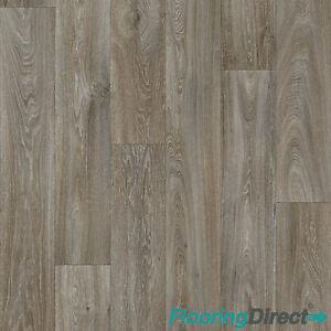 New grey oak vinyl flooring roll quality lino anti slip for Kitchen vinyl flooring roll