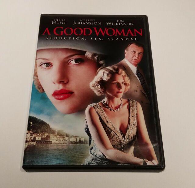 A Good Woman Starring Helen Hunt & Scarlett Johansson (DVD) TESTED