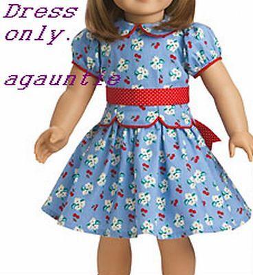 New American Girl Emily Meet DRESS Outfit Addy Caroline Rebecca Ruthie Samantha