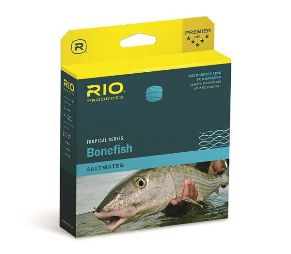 Rio Bonefish Fly Line WF8F  Coloree Seblu  nuovo