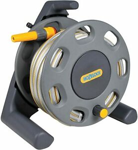 Hozelock 2412R3444 30m Compact Reel with 20m Hose