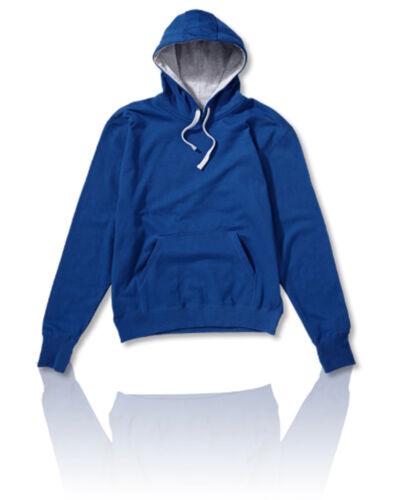 SG Men/'s Contrast Hoodie Plain Hooded Sweat Adult Hoodie
