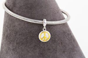 Symbol-of-Peace-Pendant-Charm-for-Bracelet-or-Necklace-Delicate-Silver-Pendant
