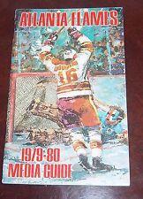 Atlanta Flames   media quide / year book 1979- 1980 Guy Chouinard