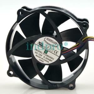 For EVERFLOW F129025SU 90 80mm x25mm CPU fan 12V 4Pin 0.38A F129025SU #
