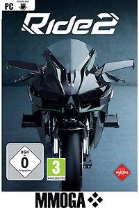 Ride 2 - Steam Digital Download Key - PC Spiel Code Ride II R2 [NEU] [DE] [EU]