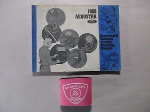 1988 FORD AEROSTAR ELECTRICAL VACUUM TROUBLESHOOTING ...
