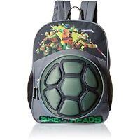 Teenage Mutant Ninja Turtles 3D Eva Turtle Shell TMNT Boys Backpack Bookbag