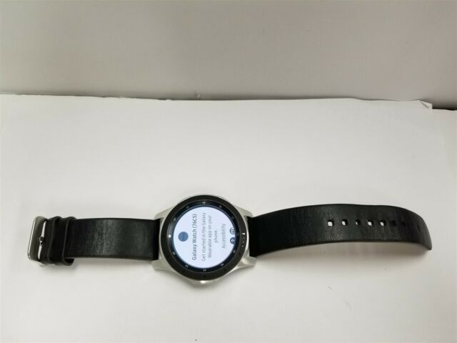 Samsung Galaxy Watch 46mm Silver SM-R800 Bluetooth Smartwatch NG9139