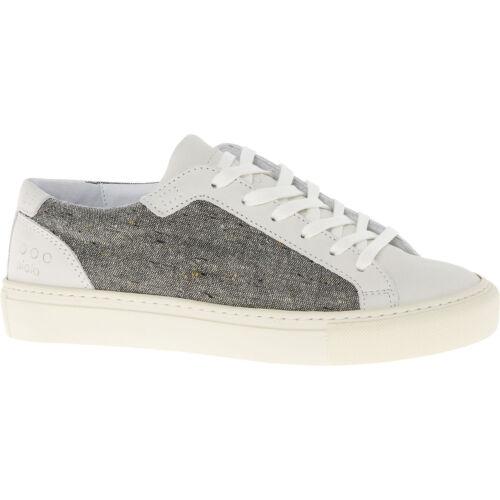 Uk Nouveau Piola Baskets et cuir en pour blanc Ica Sneakers femmes Lady grises 4 laine en r6rdwq5z