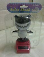 Black Solar Power Dancing Shark..(●_●).(●_●)..