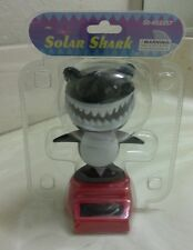 BLACK SOLAR POWER DANCING SHARK..(●_●).(●_●)..