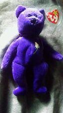 Ty Beanie Baby ~ PRINCESS (Diana) Bear ~ RARE INDONESIA PVC 1st EDITION!!!
