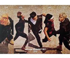 Kpop Big Bang Official Made Series E Poster, Shipped In Hard Tube