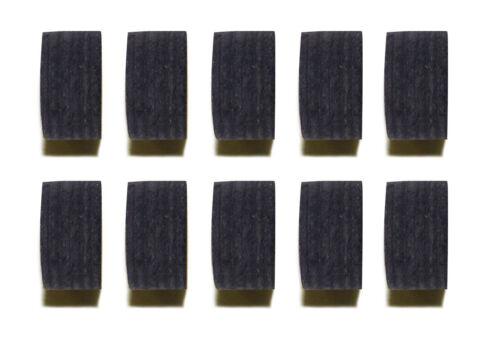 Wholesale price Quantity 10X Pool Black Layers Cue Tips 14 MM Soft//Medium//Hard