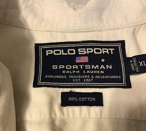 Sport Polo Sleeve Beige Men's Shirt Corduroy Ralph Lauren Short qGzSMVUp