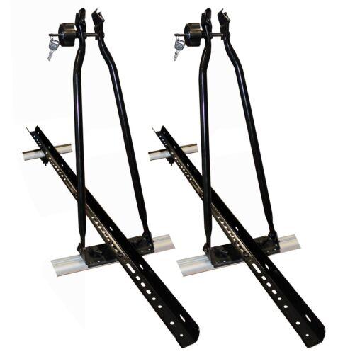 2 Fahrradträger Dachfahrradträger Fahrradhalter abschließbar Rad Aufsatz