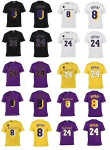 KOBE-BRYANT-8-or-24-KB-Patch-L-A-Lakers-Player-Jersey-2020-CUSTOM-T-Shirt