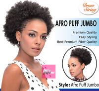 Jumbo Afro Puff Drawstring Ponytail By Bijoux