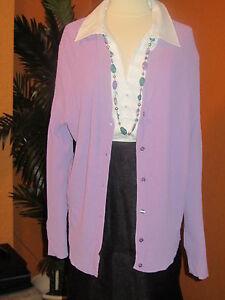Lilla Kate Nwt 94 Dame Hill Jacket 3x sweater Lavendel Cardigan qgO8wqrxP