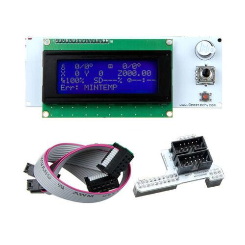 Newest LCD 2004 20*4 controller for RAMPS 1.4 Sanguinololu Rambo Megatronics
