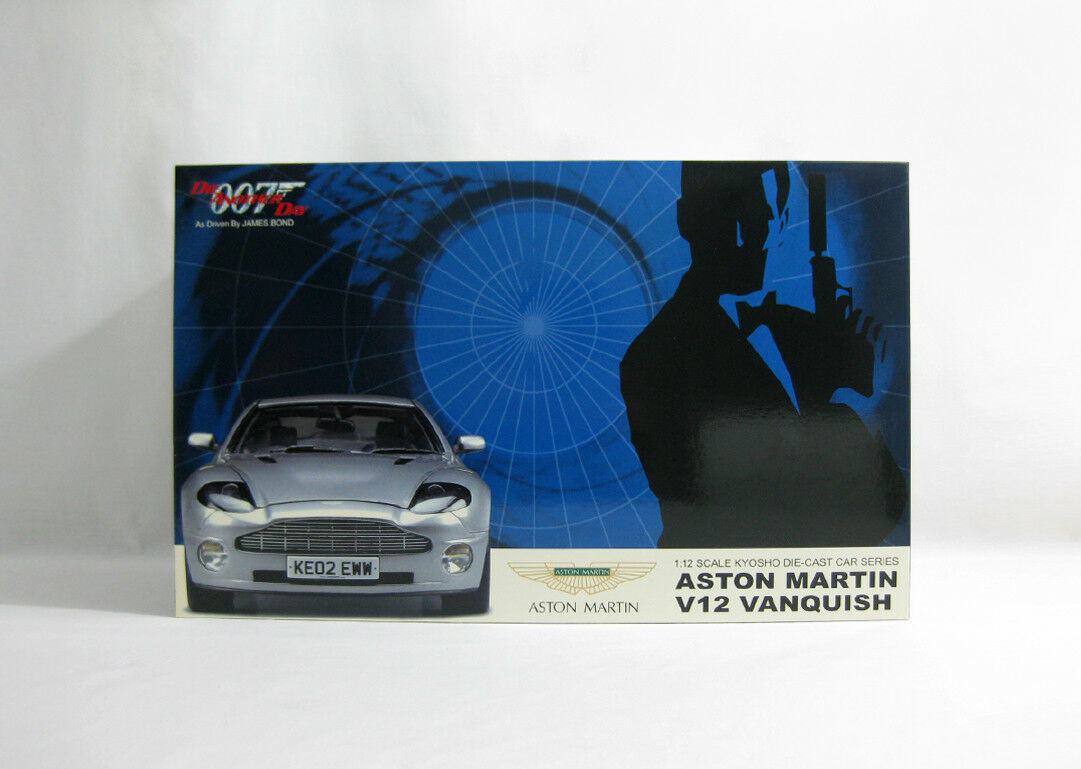 venta con alto descuento Nuevo 2003 James Bond 007 007 007 ✧ Aston Martin V12 Vanquish ✧ Kyosho 1 12 Die anotherday  comprar barato