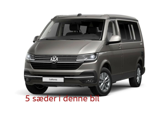 VW California, 2021, FABRIKSNY CALIFORNIA T6.1, klar til…