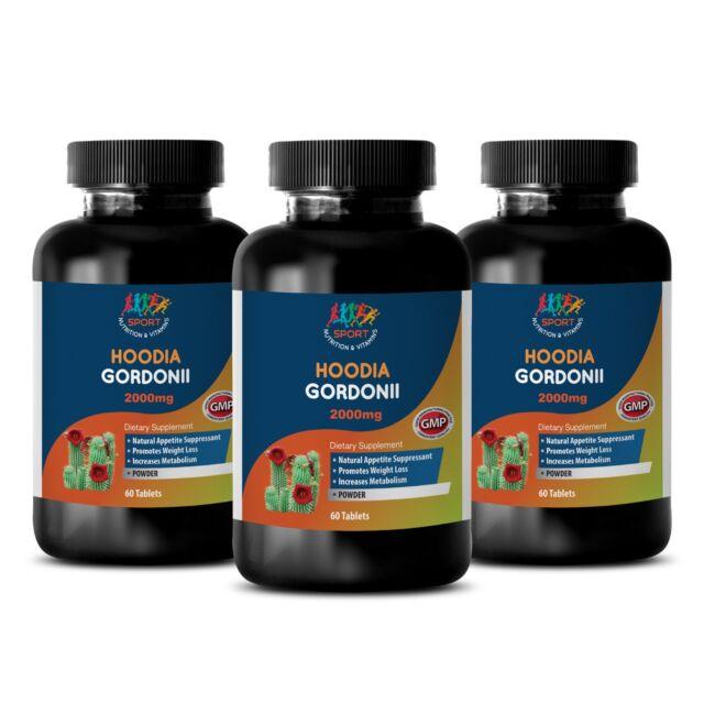 Weight Loss Diet Pills Hoodia Gordonii 2000mg Fat Burner 3