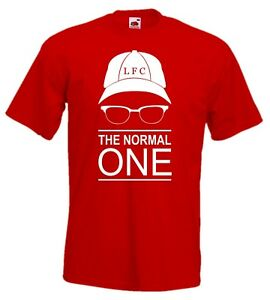 Klopp-NORMAL-ONE-T-Shirt-Kinder-Shirt-Fan-Art-Liverpool-Fanshirt-ab-Gr-104-5XL