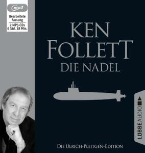 DIE-NADEL-FOLLETT-KEN-ULRICH-PLEITGEN-EDITION-MP3-CD-NEW