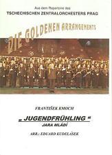 Blasmusiknoten Jugendfrühling / Jara mladi / Marsch