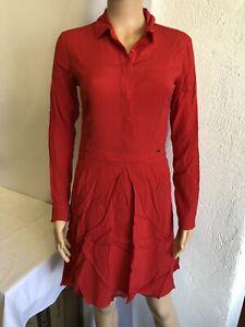 Robe à Manches longues Femme Salsa réf 115764 Taille S Couleur Rouge Neuf!!!!