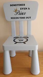 decal only for time out chair naughty chair girl boy kids ebay. Black Bedroom Furniture Sets. Home Design Ideas