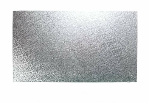 """Oblong Cake Drum 13mm THICK 15/"""" x 12/"""" Inch Silver Rectangular"""