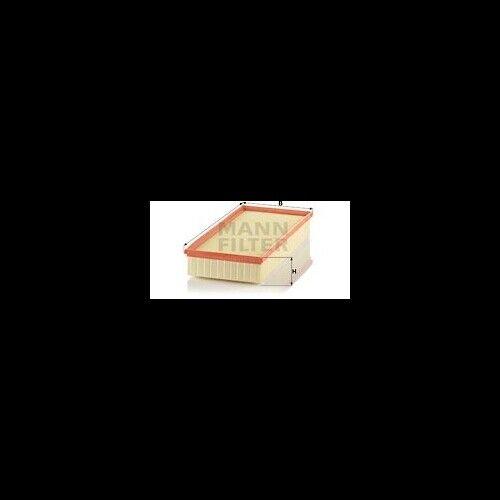 1 filtre à air MANN-FILTER C 39 002 Adapté Pour PORSCHE VAG