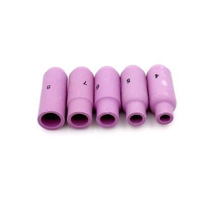 "10N49 #5 Alumina Nozzle Cup 1/""27//32 fit TIG weld Torch WP-17 WP-18 26 PK//10"