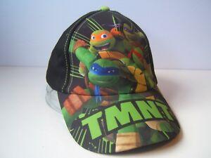 Baseball Cap Ninja Turtles 100/% Polyester Kinder Junge Kappe  Schildmütze Sommer
