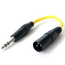 6.35mm-6.3mm-0.6cm Stereo-klinkenstecker Auf XLR Männlich Adapter Kabel,PA