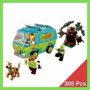 SCOOBY-DOO-The-mystery-machine-305-Pcs-Legoingly-75902-Blocks-Toys-For-Children