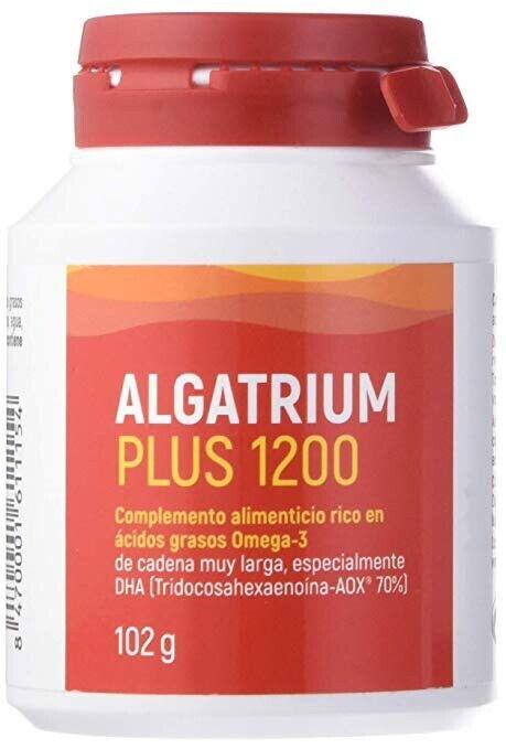 Algatrium Plus 1200mg 60 Caps. 840mg DHA. Antiox.