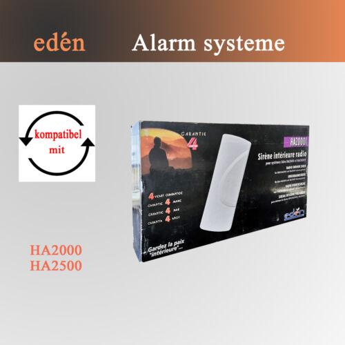 Innenraumsirene für Edèn Alarmanlage HA2000I  Alarm-Sirene 104dB HA2000  HA200Y