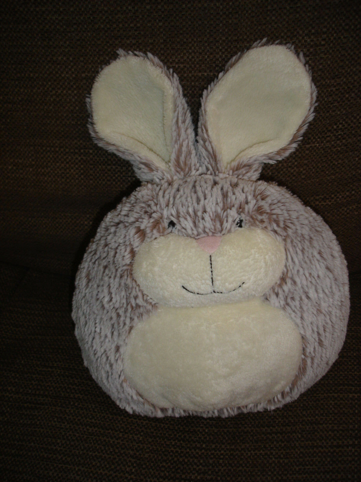 JELLYCAT FURBALL BUNNY RABBIT SOFT PLUSH TOY APPROX 12  INCLUDING EARS