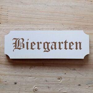"""Confiant Virent """"bar à Bière"""" Bouclier 15 X 5 Cm Bouclier-afficher Le Titre D'origine Nous Avons Gagné Les éLoges Des Clients"""