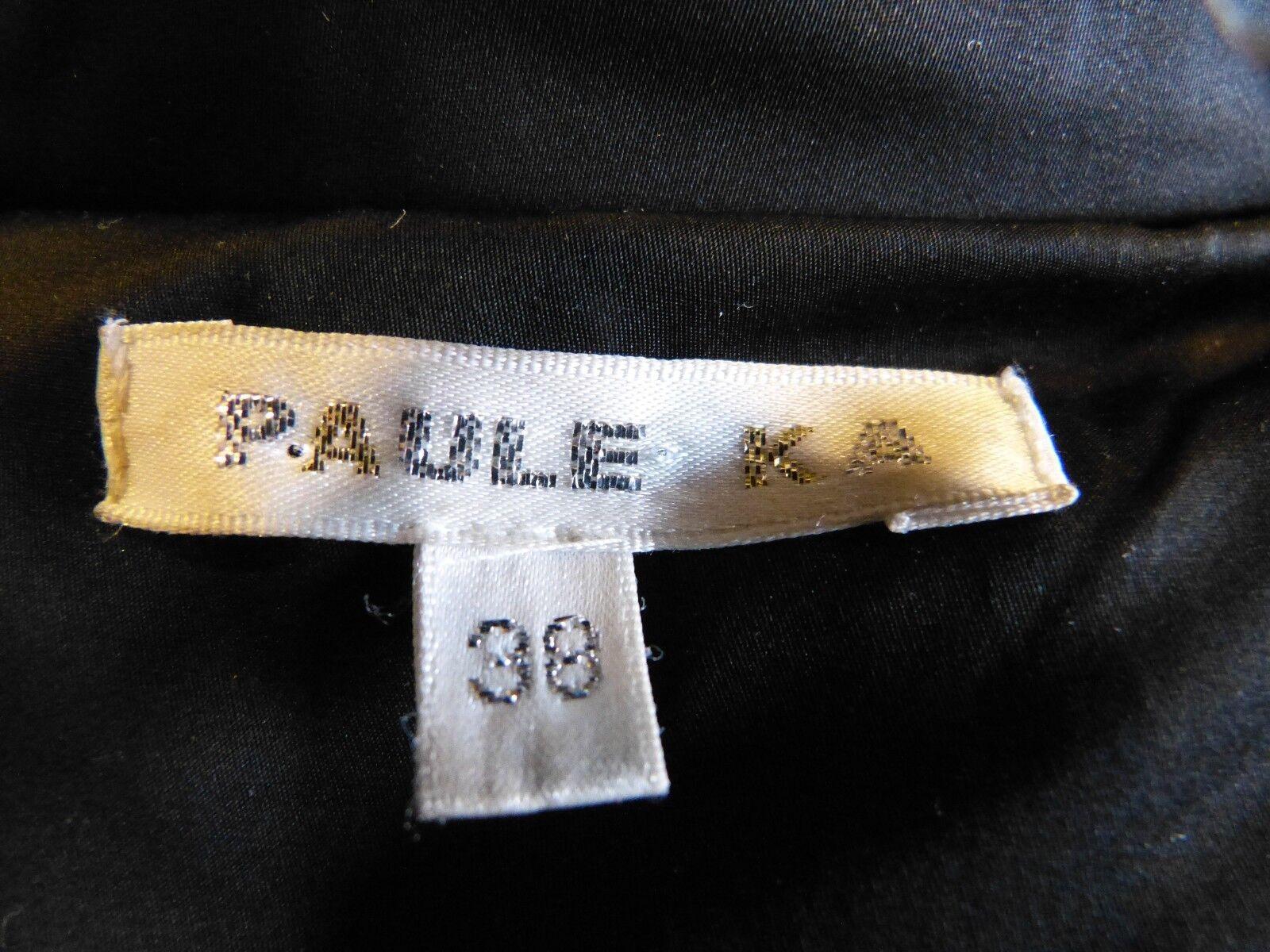 MANTEAU DOUDOUNE marque PAULE KA KA KA blackE size 36 38 EN PARFAIT ETAT 6022ad