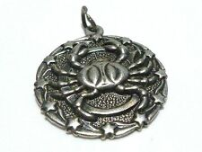RARE BELL TRADING POST CRAB CANCER ZODIAC WOMENS CHARM FOR BRACELET