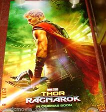 """THOR RAGNAROK (2017) 27"""" X 40"""" ORIGINAL DS POSTER DOUBLE SIDED"""