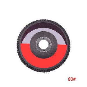 80 Grit Aluminium Oxide Flap Disc 100mm Sanding DIY