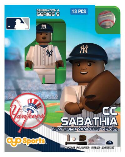CC Sabathia OYO New York Yankees MLB Mini Figure NEW G4