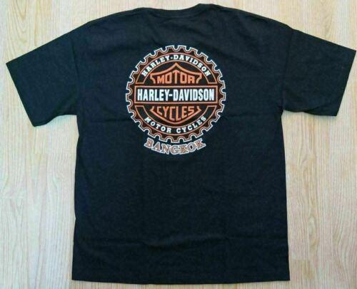 Harley Davidson Bangkok Thailand Thai Mens Men/'s T-Shirt-Size Extra Large XL-NEW